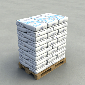 Icing Sugar with starch Paper Bag 25KG/800KG EPAL